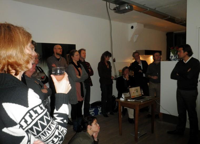Theo Reitsema vertelt over ontwerp Holt&Berg (ihkv A1Zone)