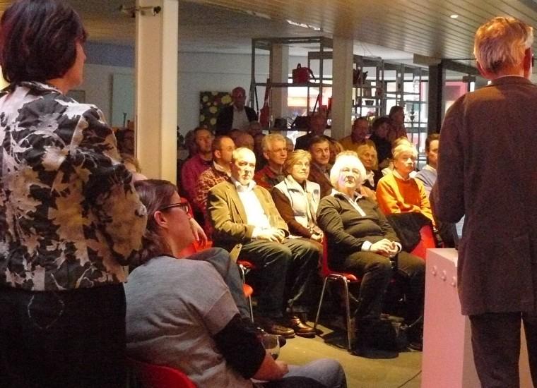 Bouwhuiscafé over welstand met stedebouwkundige Aalbert Fien