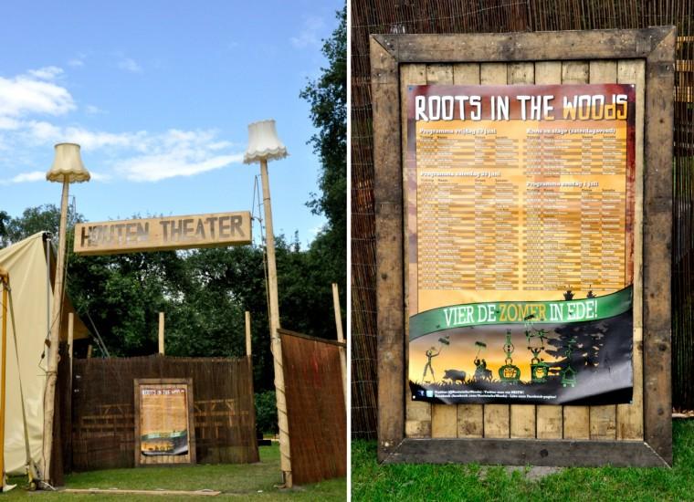 houten theater entree